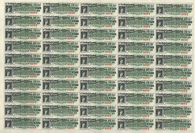 New York Central Hudson River Railroad > 6 sheets of 50 bond coupons (300 total)
