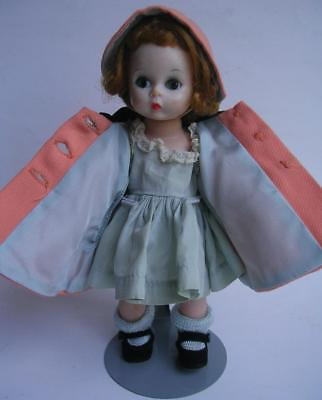 Vintage Madame Alexander Kin Doll Bnw Wendy Needs More Than A Coat #580 + Dress