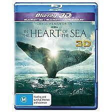 In The Heart Of The Sea 3D/Blu-Ray/Uv, New & Sealed, Region B, Priority Post