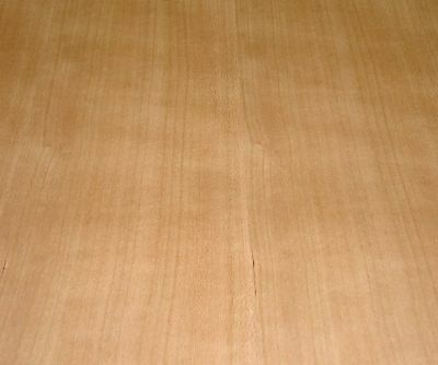 """Cherry wood veneer sheet 24/"""" x 24/"""" with wood backer 1//25/"""" thickness A grade"""