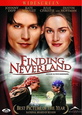 NEW DVD -  FINDING NEVERLAND - Johnny Depp, Kate Winslet, Julie Christie, Radha
