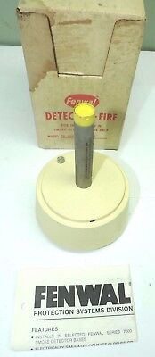 Fenwal Detect-A-Fire Detection Heat Detector Sensor Head, 140 F Degrees 15-40VDC