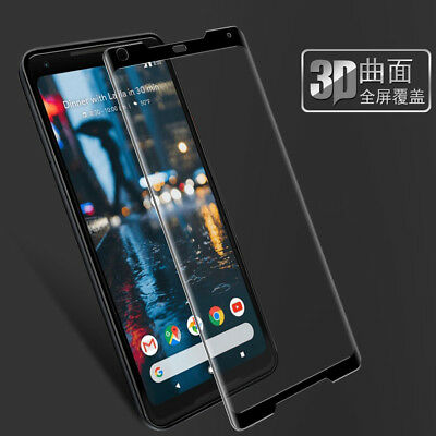 3D Full Cover Premium Tempered Glass Screen Protector For Google Pixel 2 / 2 XL