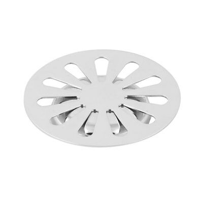 Laundry Stainless Steel Round Flower Design Floor Sink Drain Cover Lid Strainer