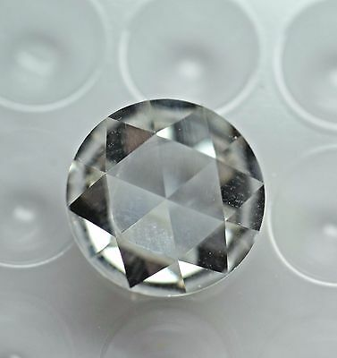 Loose Rose Cut 12mm Forever Brilliant Moissanite W/Certificate of Authenticity