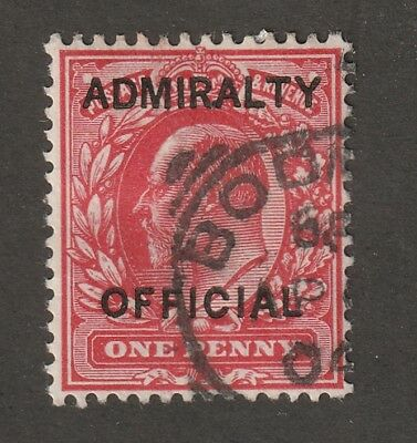 Kingscrossing - Great Britain stamp #o73.  BOB, Used,  Admiralty Off. CV $10