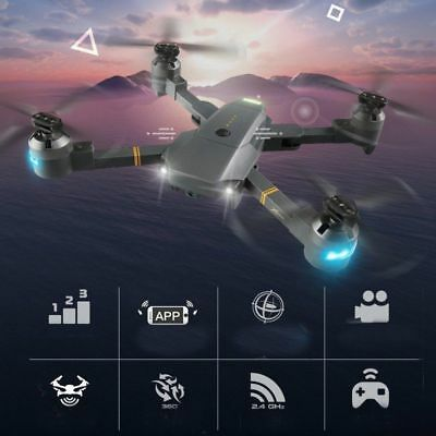 XT-1 Foldable With Wifi FPV HD Camera 2.4G 6-Axis RC Quadcopter Drohne Toy