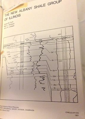 Oil, Gas Geology: New Albany Shale Illinois Circ 518;  Limestone, Sandstone