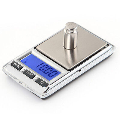 Digital LCD Electronic Jewelry Pocket Portable Gram Weight Balance Scale Novelty