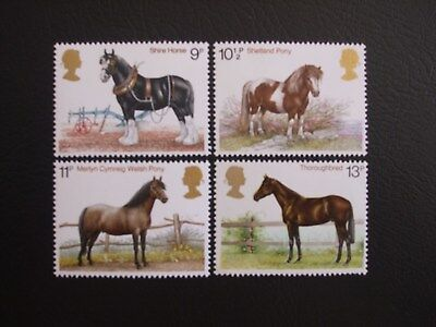 Horses Great Britain 1978 Commemorative Stamps