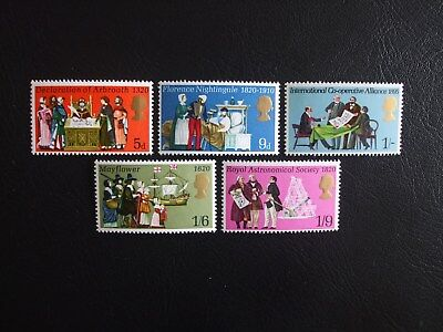 Event Anniversary Great Britain 1970 Commemorative Stamps