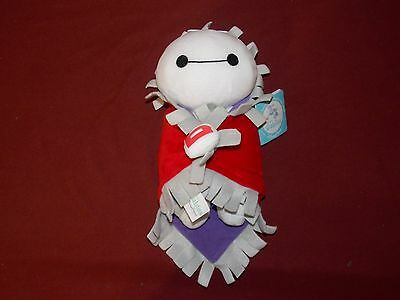 """Authentic Disney Parks 10"""" Baby Baymax Plush Disney's in Blanket Babies New"""