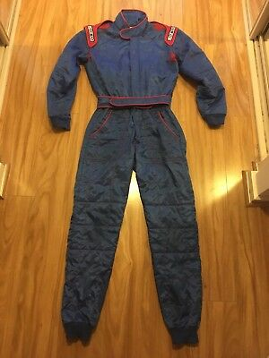 Used Sparco Race Suit CIK-FIA Size S 50 Small K26 Model