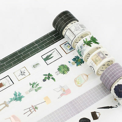 Fashion Washi Masking Tape Paper Craft Scrapbook DIY Diary Album Card Decoration