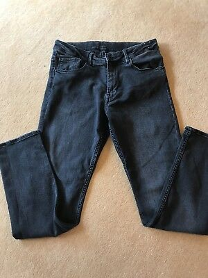 H&M Boys Black Skinny Fit Jeans Age 12-13 Yrs