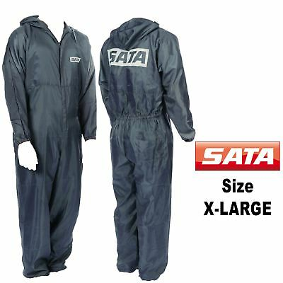 Genuine Sata 5470 X-Large [XL] Grey Paint Overalls Elasticated Wrists/Ankles
