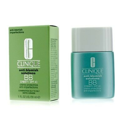 BNIB Clinique Anti-Blemish Solutions BB Cream SPF 40 30ml - Medium Deep