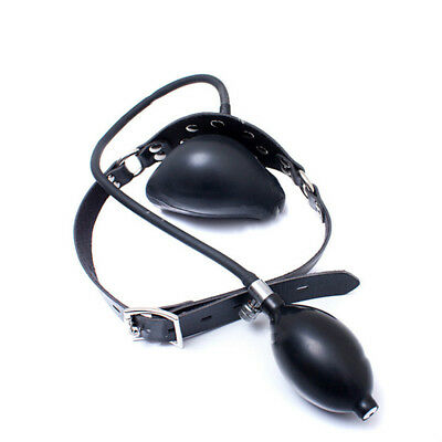INFLATABLE LATEX MOUTH gag with pipe - $70 00 | PicClick