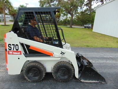 "2011 Bobcat S70 ""mini Backyard"" Wheel Loader - Only 3' Wide - Kubota Diesel"