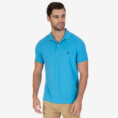 Nautica Mens Slim Fit Deck Polo Shirt