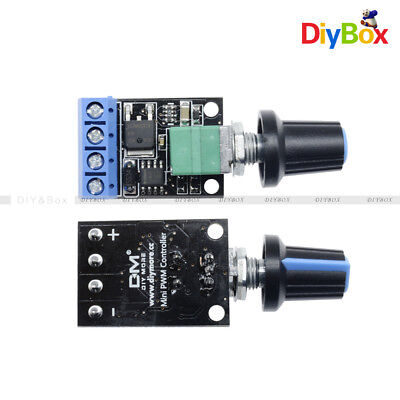 DC 10A 5V-16V PWM Speed Regulation LED Dimming Ultra High Linearity Band Switch