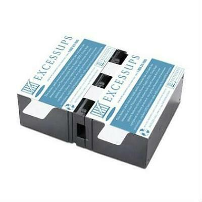 New Battery Pack For Br1300G, Br1500G - Apcrbc124 Replacement - 1 Yr Warranty