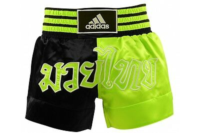 Adidas Muay Thai Fight Shorts MMA Kick Boxing Trunks Pink Blue Green