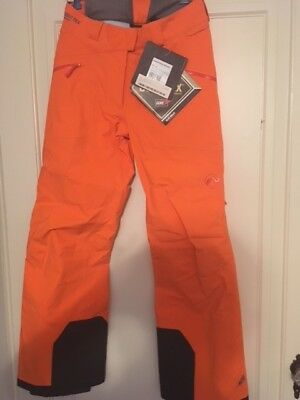 Mammut Jewel Women's Gore-Tex Ski Pants, Color Flame, Size 8