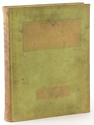 Motors Factory Truck Repair Manual First Edition 1946 Shop Book D9
