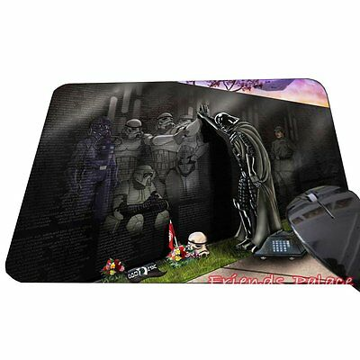 Darth Vader Respect for the Fallen Soldiers Star Wars Mousepad, ToyMP:55