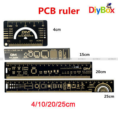 15/20/25cm PCB Ruler Reference Ruler PCB  for Ardunio Electronic Engineers