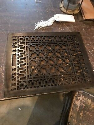 Br 12 antique cast-iron heating great face 13.75 x 16 15/16