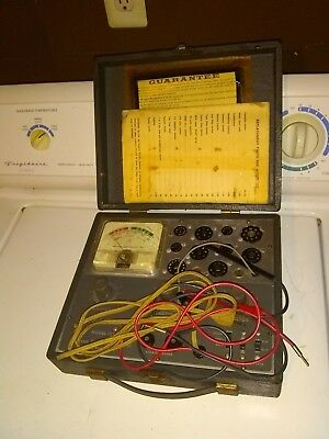 Tube Tester Model 157 Accurate Instruments USA 1960's with Instructions