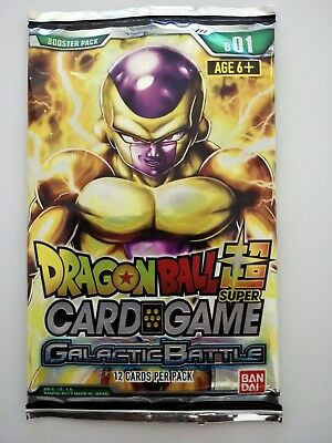 Dragon Ball Super Card Game Galactic Battle Booster Pack (12 Cards per Pack)