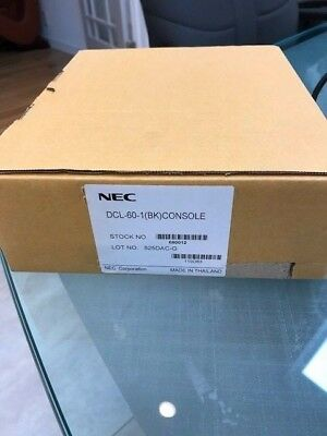 NEW IN BOX NEC 60 Key DSS Console - DCL-60-1(BK)CONSOLE