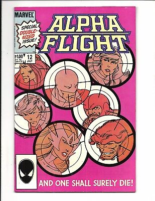 Alpha Flight # 12 (Special Double-Size Issue, July 1984), Vf/nm
