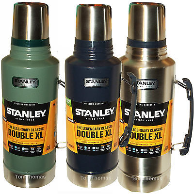 1.9L Large Heavy Duty Stanley Flask Stainless Steel Vacuum 1.9 Litre Thermos