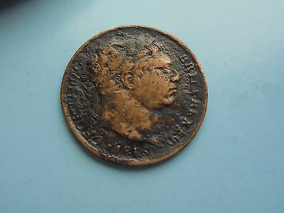 1816 George III Sixpence, Rare, but had a hard life.