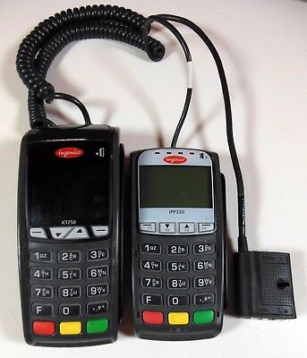 Ingenico IPP320 and ICT250 Credit Card Machine Processing Units Chip & Swipe.