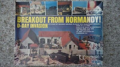 Breakout from Normandy MPC Brand 1/72 Scale Model Kit New in Box, Never Built