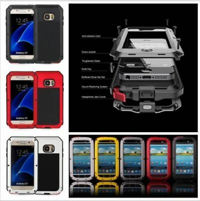 Waterproof Shockproof Aluminum Gorilla Metal Cover Case for SAMSUNG Phones