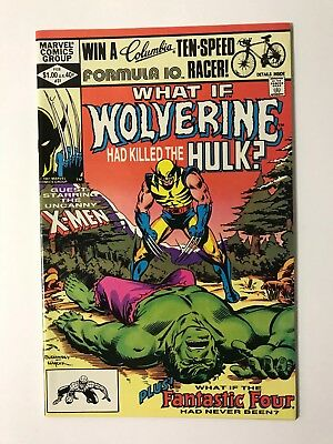 what if 31 - wolverine killed hulk - high grade - free shipping - logan x-men