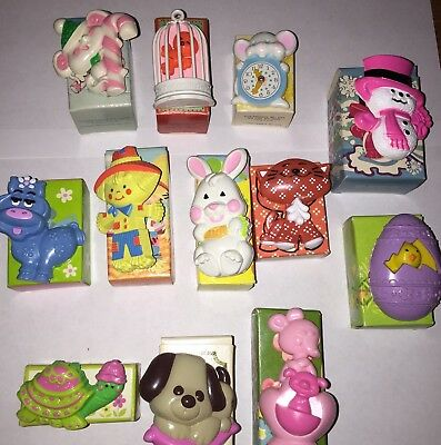 NOS Vintage Avon Pin Pals Fragrance Glacé Perfume Pin Lot Of 12 NEW OLD STOCK