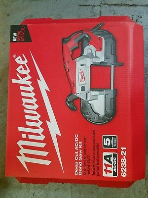 NEW Milwaukee Deep Cut Portable AC/DC Band Saw with Case, 11amp, Variable speed