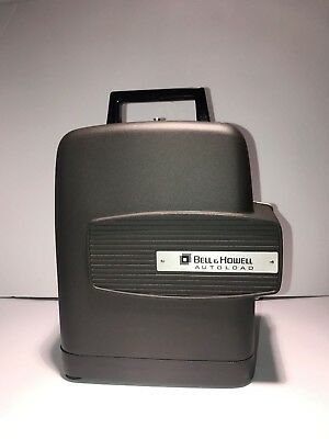 VINTAGE- BELL & HOWELL 346A SUPER 8MM FILM PROJECTOR AUTOLOAD- Tested
