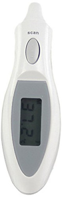 Infrarotthermometer Ohrthermometer Infrarot In-Ear Ohr Thermometer Digital LCD