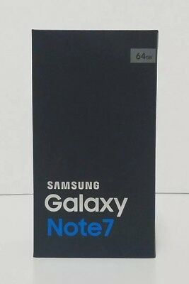 Samsung Galaxy Note 7 Retail Box W/ Accessories Shown Verizon 64Gb - No Phone!!