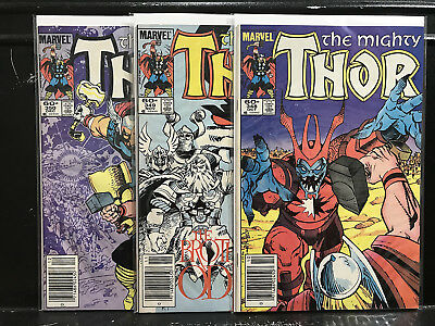 Lot of 3 Thor #348 349 350 (1966 Marvel) Combined Shipping Deal!