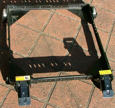 Cabinet table saw/machine trolley