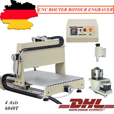 1.5KW 6040 4/3-Achse CNC Graviermaschine FräSmaschine Carving Router Engraver